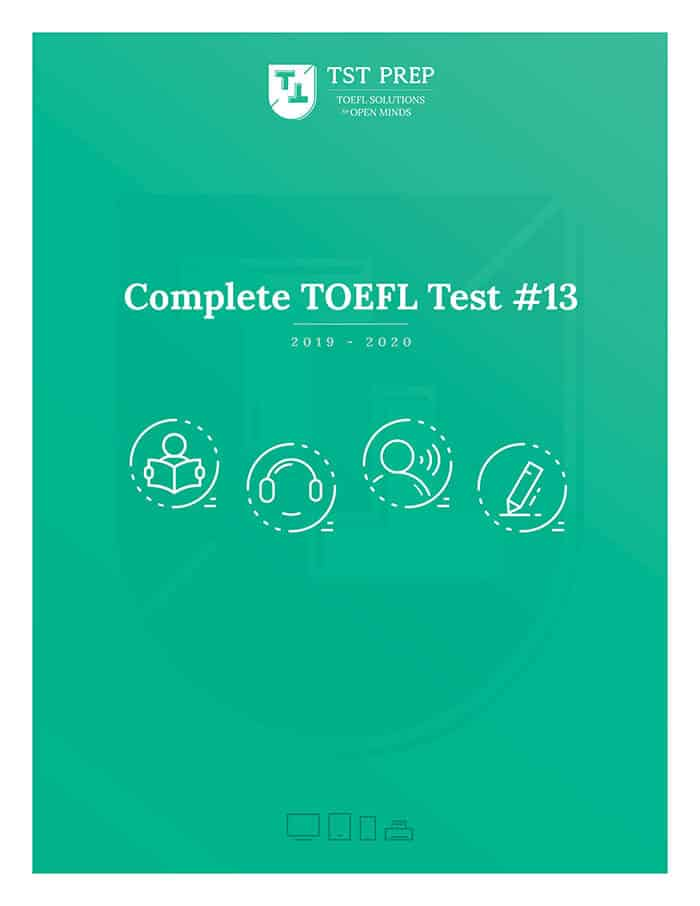 free toefl practice test with answers